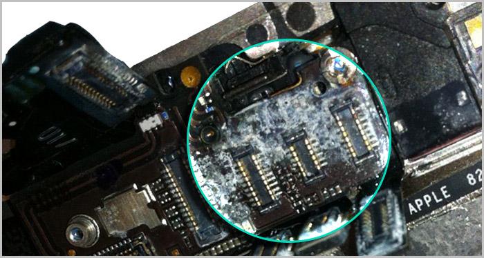 Macbook Pro Liquid Spill Damage Repair