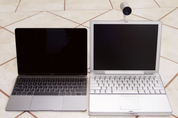 MacBook 12 inch retina vs PowerBook 12 inch black
