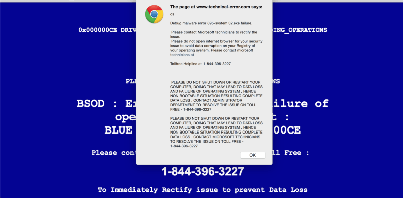 Blue Screen Malware 2