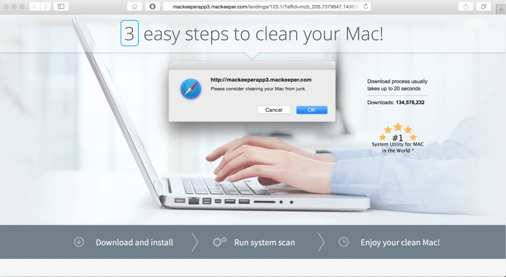 Mac keeper virus removal
