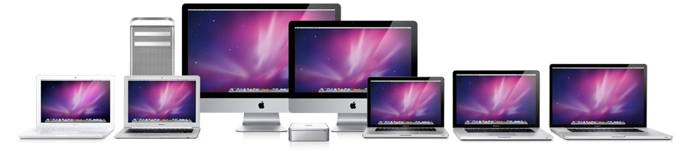 apple computer lineup mac repair services