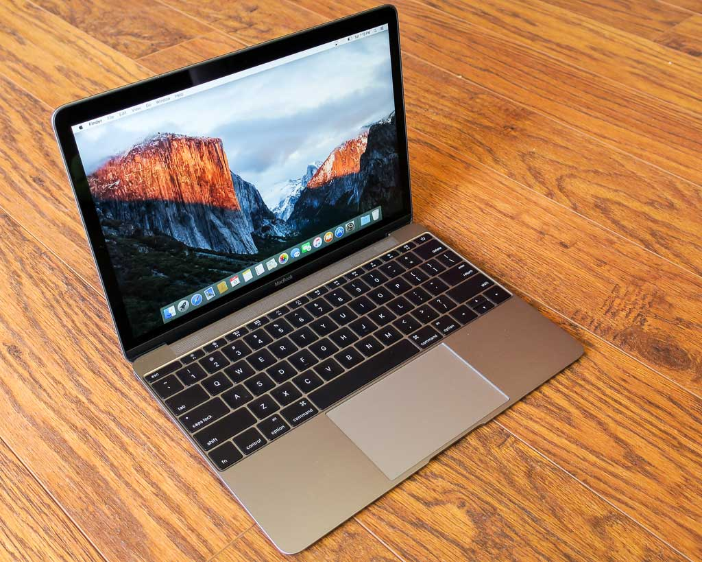 MacBook 12-inch retina space gray