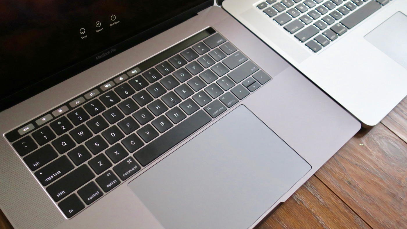 The trackpad on Late 2016 MacBook Pro is more than twice the size of its predeccesor