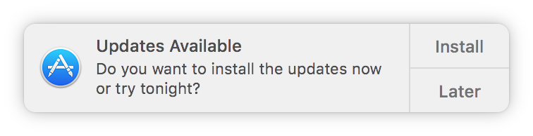 macos updates available notification