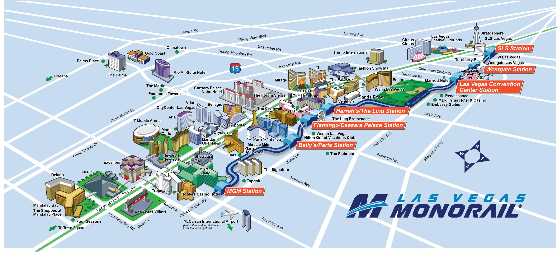 Las Vegas Strip Monorail